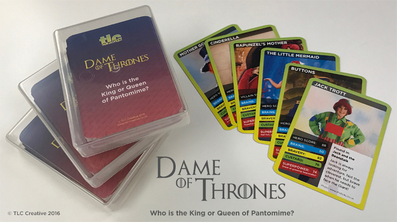 Dame of Thrones - Set of 10 Packs by tlc Creative