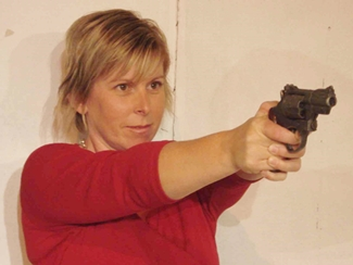 Karen decides there is only one way to stop a blackmailer in,  'A Darker Shade of Closure'