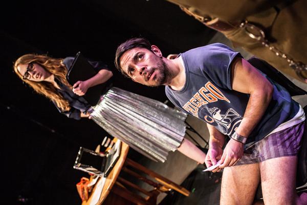 Stacey Norris & Anthony Acosta in QUOTA - British Theatre Challenge Act II - Photo - Rah Petherbridge Photography