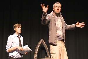 'I Am Hamlet' in performance