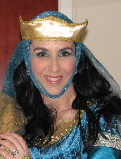 Sharon pictured as Queen Guenivere in TLC's 'Knight Fever' (picture by Robin Warne)