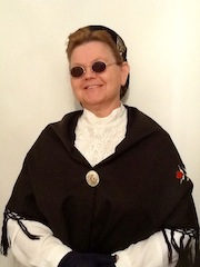 Debi Irene Wahl performing as Aunt Fanny Jane Crosby