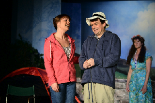 'Happy Campers' in performance