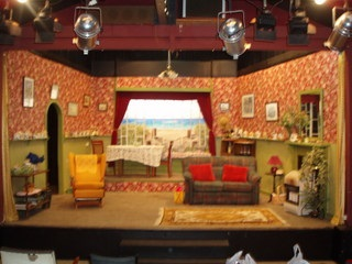 Cardigan Coast set - Wairoa Little Theatre 2012 production