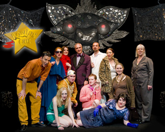 Original cast of 'Bowing Out' - July 2008