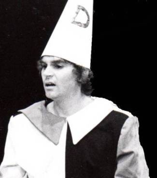 Bob as Billy Goose in 1990