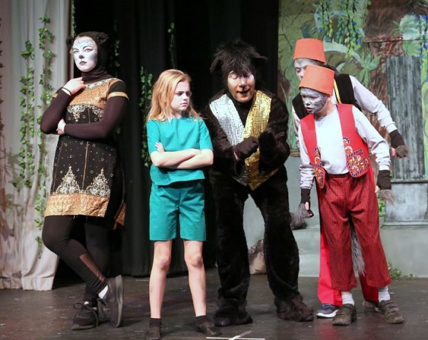 Jungle Book, CAODS December 2018 production, photo by Cheryl May.