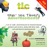 Four and Twenty Advertisements - Audio CD by TLC Creative & Sound-Board.com